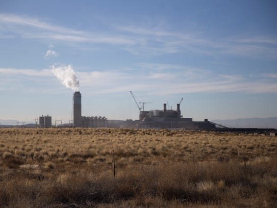 The Four Corners Power Plant is pictured on Thursday, Jan. 4, 2018 in Fruitland.
