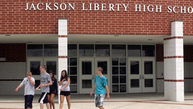 Jackson Liberty High School was put on lockdown Friday afternoon.