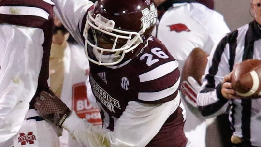 Mississippi State Bulldogs defensive back Kendrick