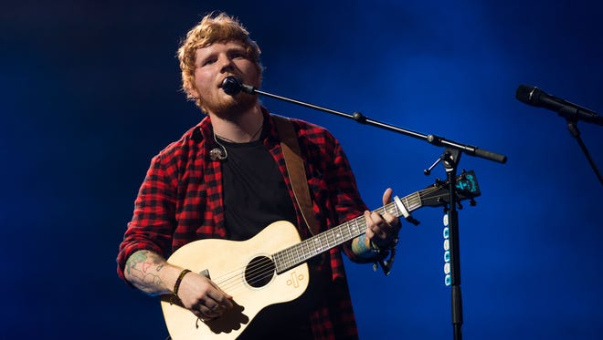 Ed Sheeran will perform Friday, Sept. 8, at Bankers Life Fieldhouse.