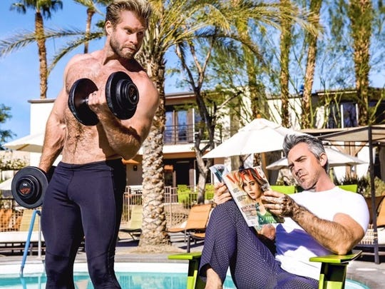 """Craig Ramsay and Brandon Liberati, the stars from the new hit Bravo Series """"Newlyweds The First Year,"""" will appear at the Mayor's Race & Wellness Festival next weekend in Palm Springs."""