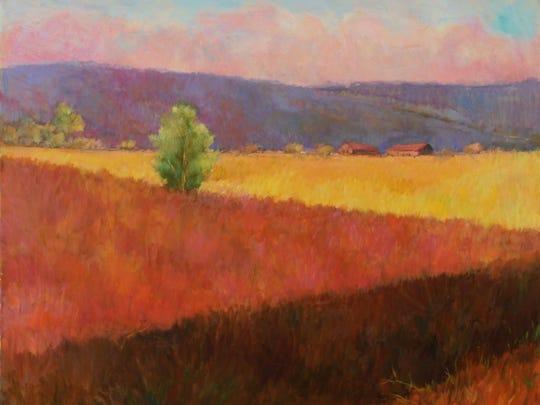 """""""Ulster Summer"""" by Lynne Friedman."""