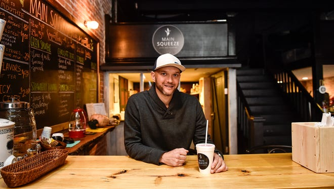 Todd Filliater is the owner of Main Squeeze Juices and Smoothies located near the intersection of Church Street and South Main Street in downtown Marion. The restaurant was forced to close until the spring because of the COVID-19 pandemic.