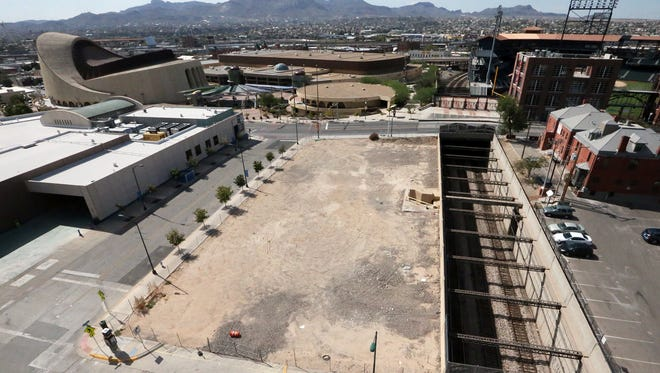 The El Paso Children's Museum site in Downtown El Paso. The city in January 2016 bought the oldGreyhound Lines Inc. maintenance facility near Southwest University Park. The maintenance facility was razed to make way for the museum.