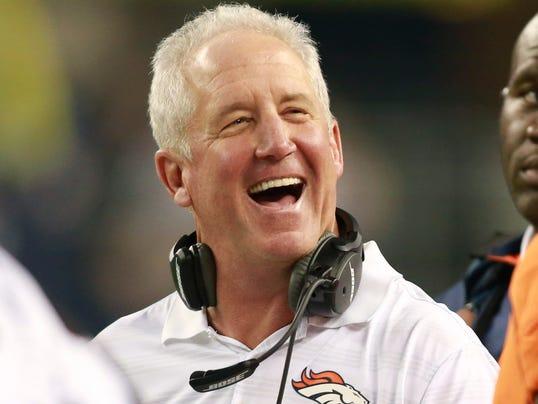 Denver Broncos coach John Fox