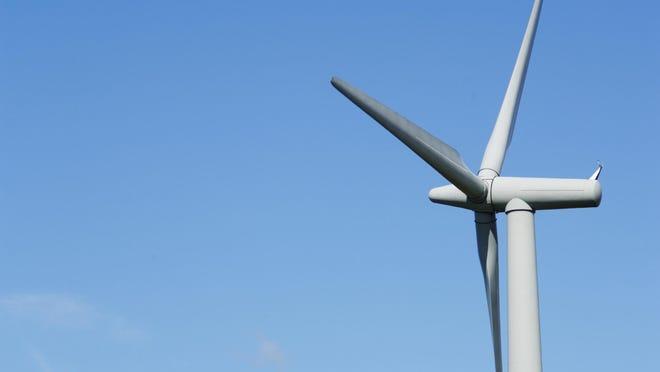 Wind turbine in unknown location.