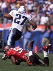 Former Titans running back Eddie George.