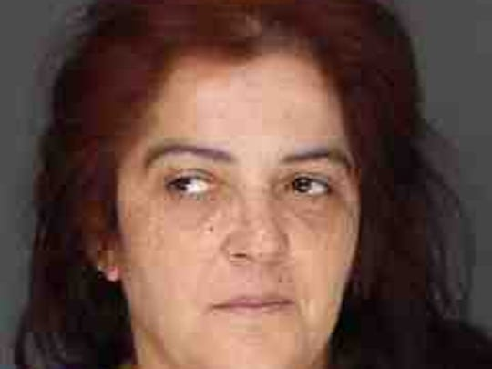 Yvette Lopez, 45, of Walden, accused of shoplifting at the Palisades Center.