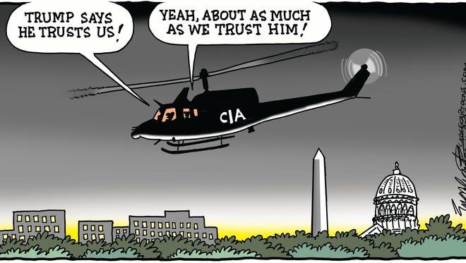 Trump and the CIA
