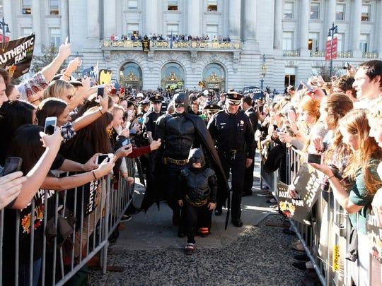 "It's easy to be cynical about the world. ""Batkid Begins"""