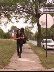"Sixto Rodriguez in a scene from the documentary film ""Searching for Sugar Man."""