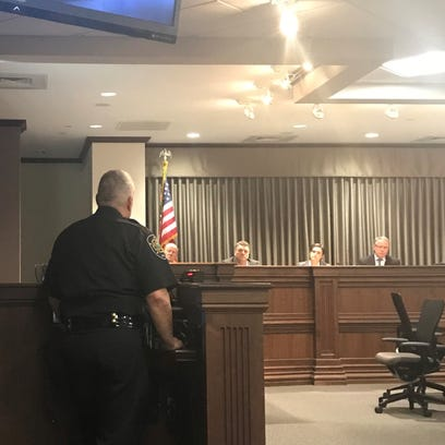Sheriff Van Duncan faced Buncombe County commissioners