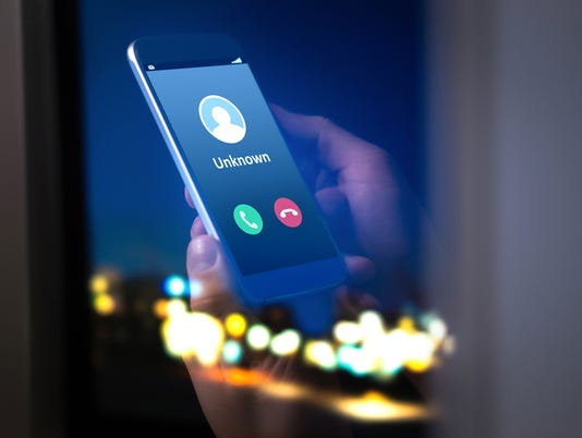 Unknown number calling in the middle of the night. Phone call from stranger.