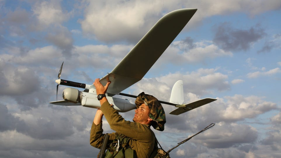 Israel's defense forces want a larger UAS to supplement