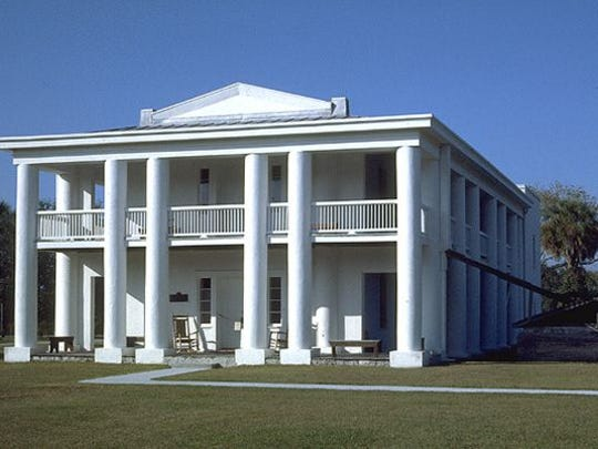 The Gamble Plantation Historic State Park at 3708 Patten Ave, Ellenton, Florida, is an attraction that is located near the likely route for the Gulf Coast Trail network in Manatee County.