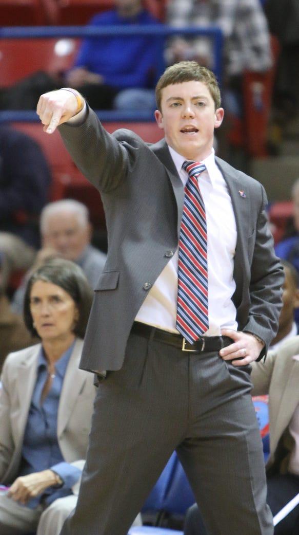 Louisiana Tech women's basketball coach Tyler Summitt