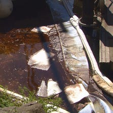 The Coast Guard is investigating a bad-smelling oil spill at the Ballard marina in Seattle.