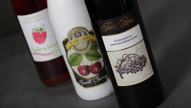 Take your time and sip on these fruit wines all summer.
