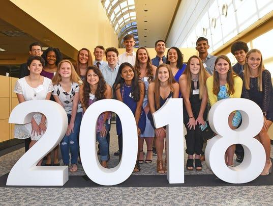 2018 Top Scholars awards breakfast