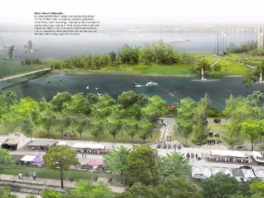A rendering shows redevelopment proposals for Wolf