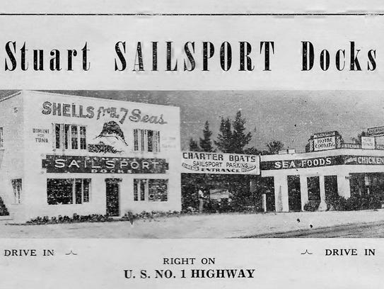 Sailsport Docks and Store, next to Goddard's Restaurant