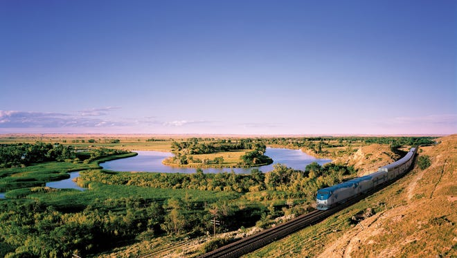 Amtrak's Empire Builder links the beautiful scenery between Chicago and the Pacific Northwest.