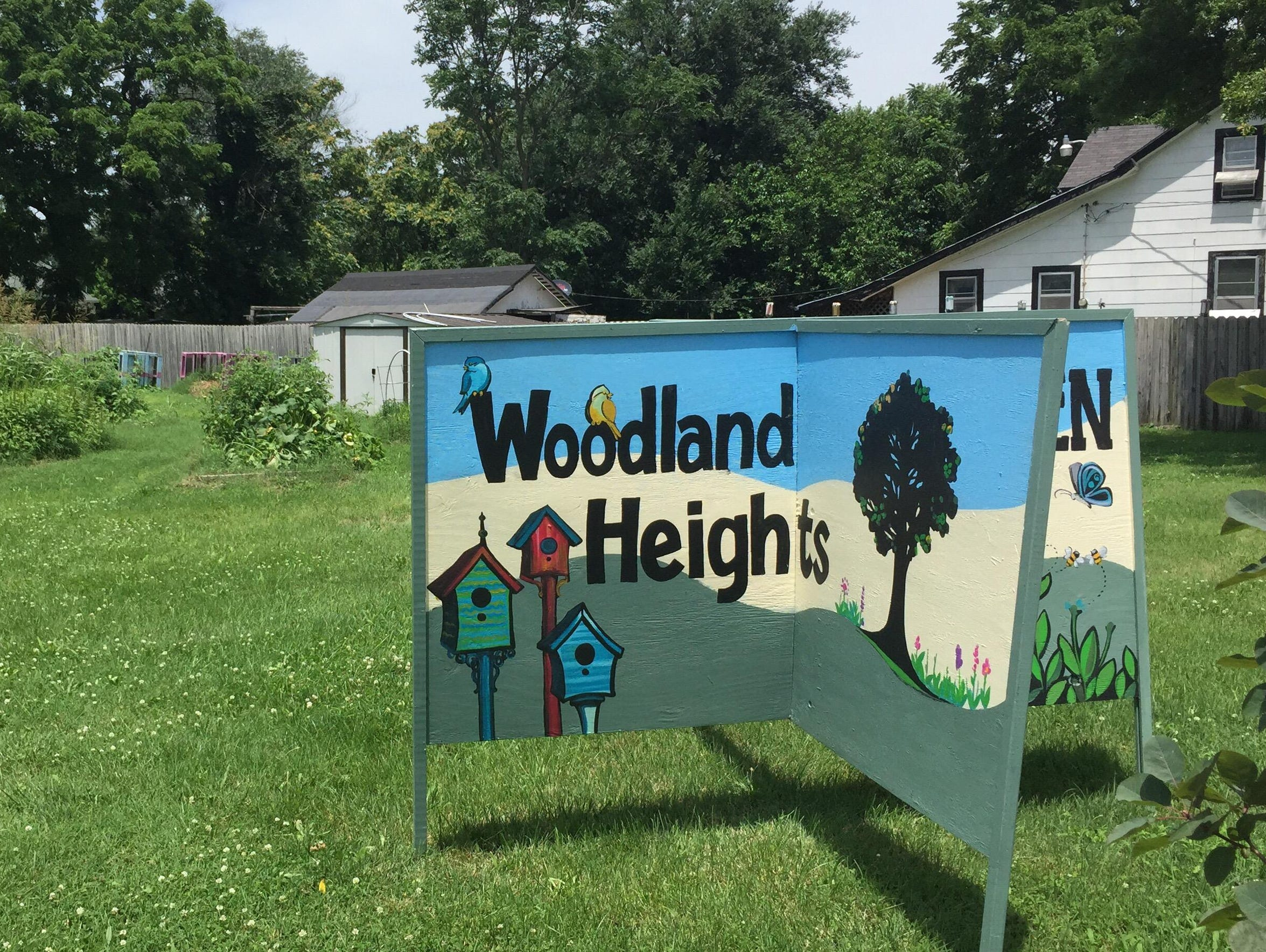 The Woodland Heights neighborhood has started a community