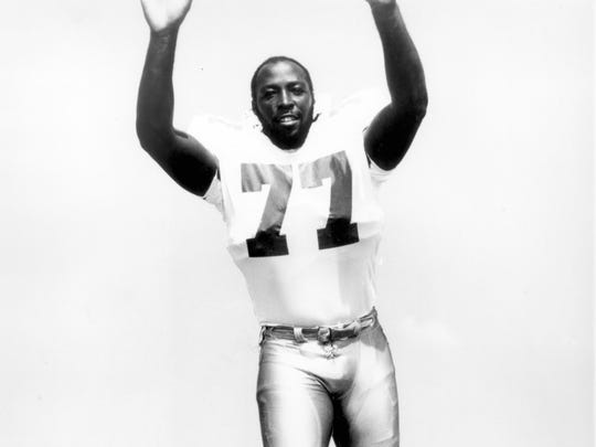 Matawan's Jim Jeffcoat poses during his career as a defensive end for the Dallas Cowboys.