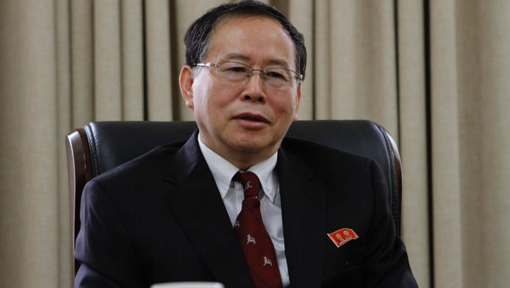 Han Song Ryol, director-general of the U.S. affairs