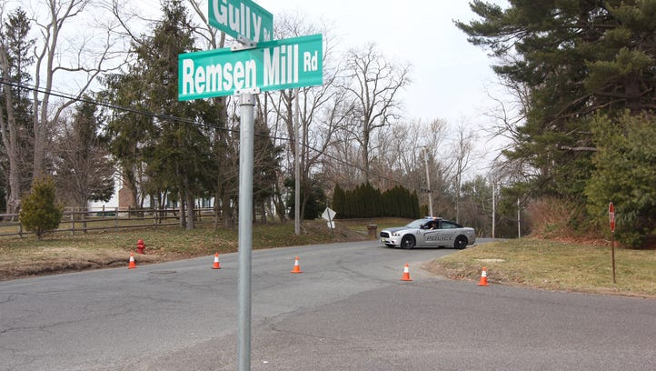 Road closure at Remsen Mill and Gully Road in Wall