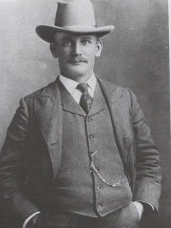 Capt. Fred Fronoff, New Mexico Mounted Police