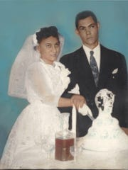 Carlota and Pablo Nieves were married in 1956.