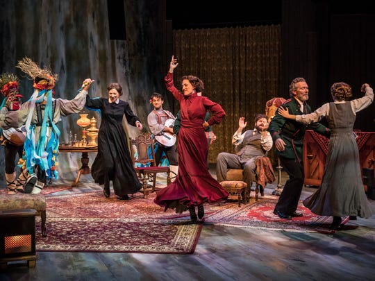 """The party turns lively during American Players Theatre's production of """"Three Sisters."""""""