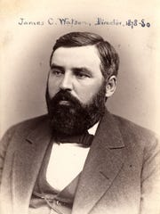 James C. Watson, director of the Washburn Observatory, thought he made an important  discovery during the 1878 solar eclipse.