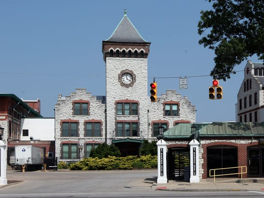 Procter & Gamble's Ivorydale facility in St. Bernard now has numerous owner/tenants. The old main gate is now the entrance to the St. Bernard Soap Company.