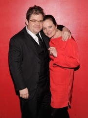Patton Oswalt's late wife, Michelle McNamara, was working