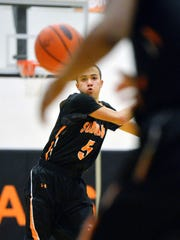 York Suburban's Donovan Mears passes to a teammate
