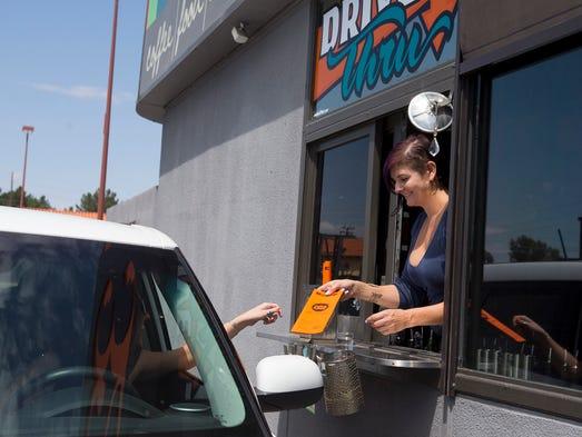 Rebecca Golden owner of  32 Shea in Phoenix takes a