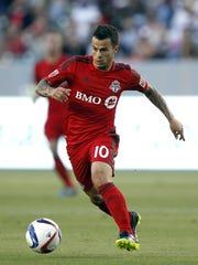 Toronto FC midfielder Sebastian Giovinco was the MLS MVP in 2015.