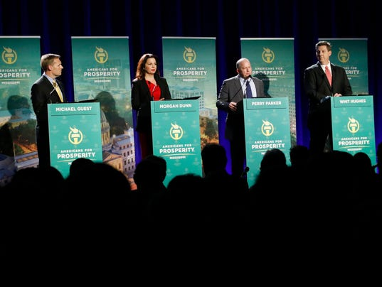 Michael Guest, Morgan Dunn, Perry Parker, Whit Hughes, Sally Doty, Katherine Tate
