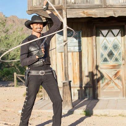 Wild West performer Loop Rawlins will open three days