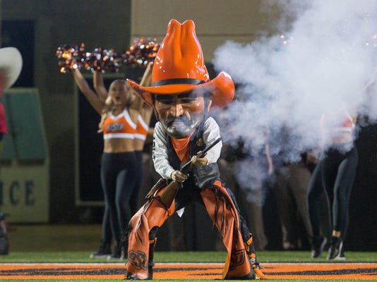 USP NCAA FOOTBALL: TEXAS TECH AT OKLAHOMA STATE S FBC OKL TEX USA OK