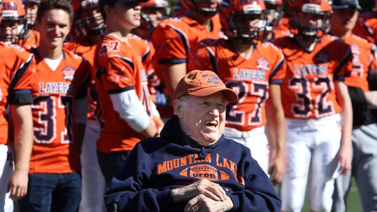 Mountain Lakes players past and present honor legendary