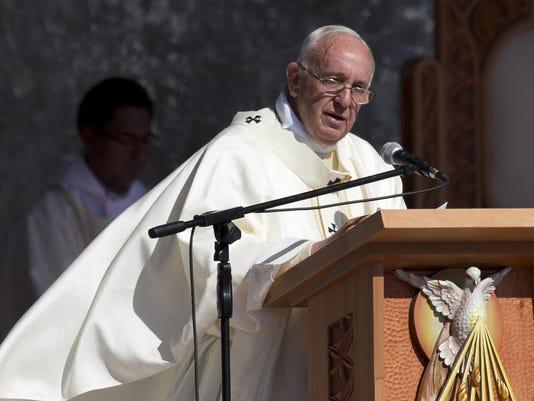 Bolivia Pope South Am_Aldi