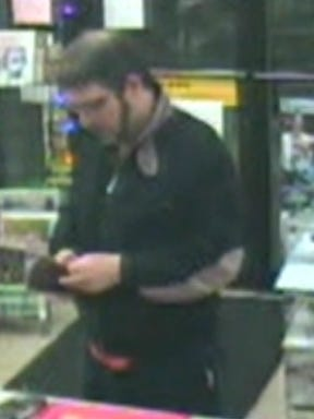 South Burlington police believe this man may have witnessed a Christmas Eve robbery at Bourne's Service Station on Shelburne Road and are interested in speaking with him.