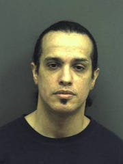 This 2013 booking photo provided by the Manassas City, Va. Police Department shows Joaquin Shadow Rams. A judge on Thursday, April 13, 2017, convicted Rams of murdering his 1-year-old son in an effort to collect on more than $500,000 in life insurance he had taken out on the boy.