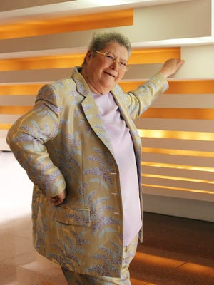 Colleen McCullough poses for a photo in 2005.