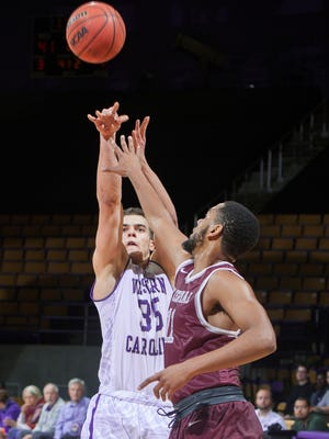Yalim Olcay is from Turkey. A freshman forward, he was playing at a prep school in Ohio, where WCU head coach Larry Hunter has longtime coaching ties.