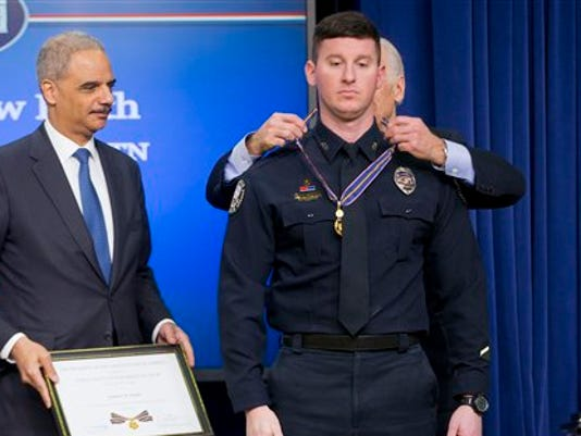 Joe Biden, Eric Holder, Andrew Keith