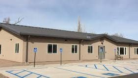 The Zia Senior Center in Carrizozo is a new building.
